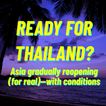 International travel reopening in Asia - Thailand holiday within reach