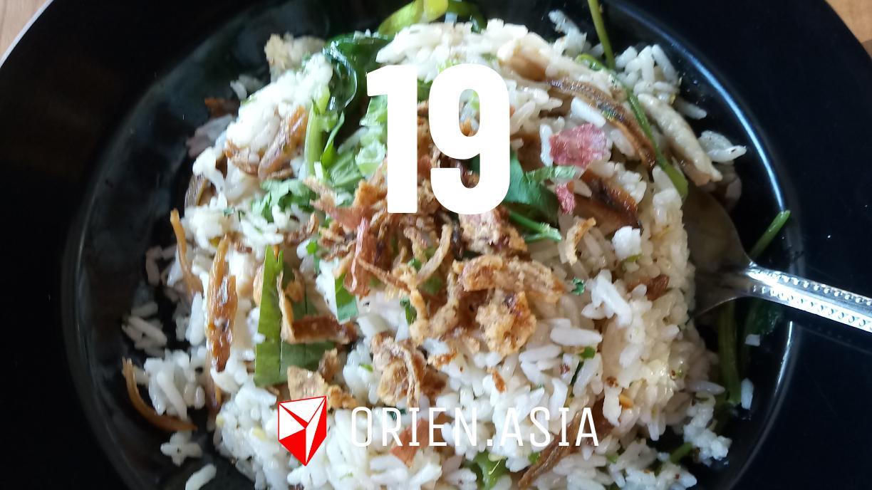 Advent calendar 2020 - 19: Fried rice