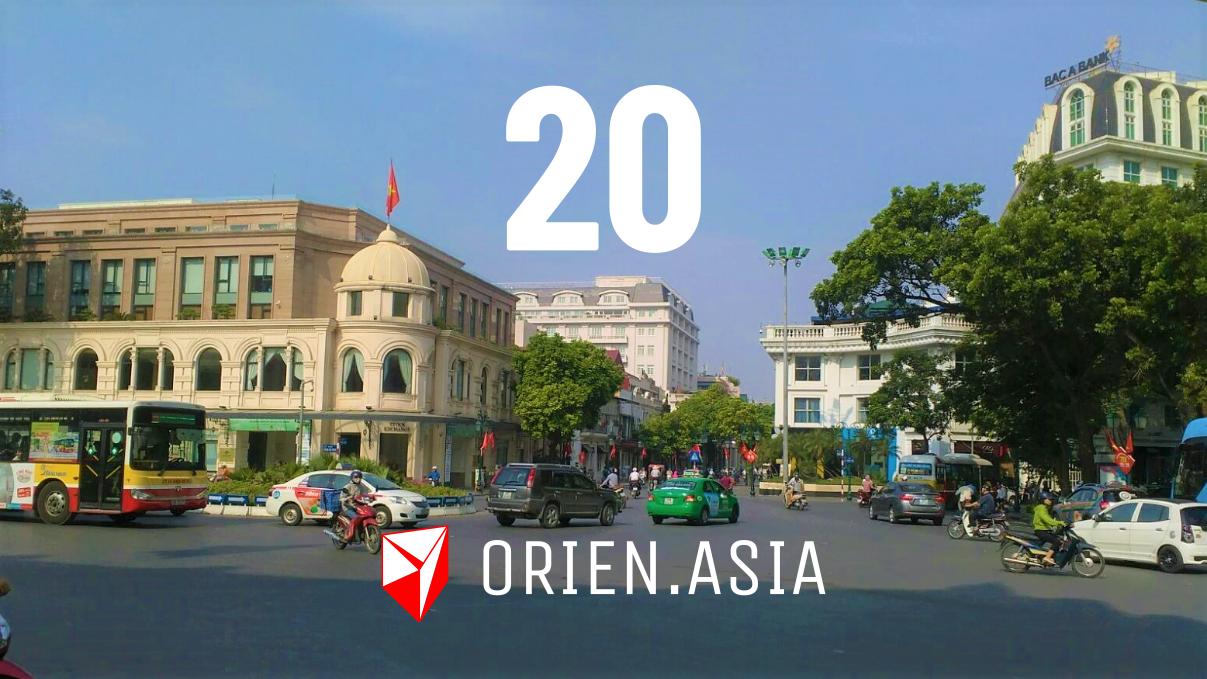 Advent calendar 2020 - 20: Hanoi, Vietnam