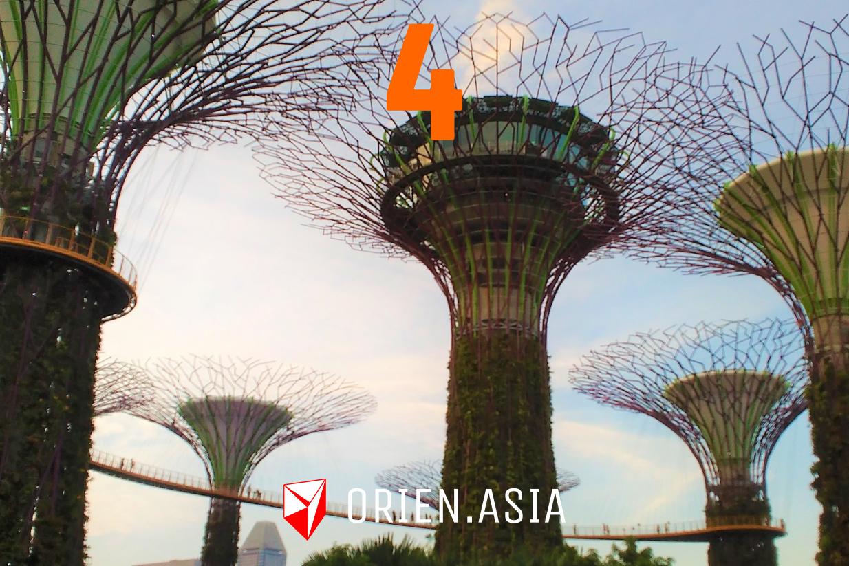 Advent calendar 2020: 4. Gardens by the Bay, Singapore