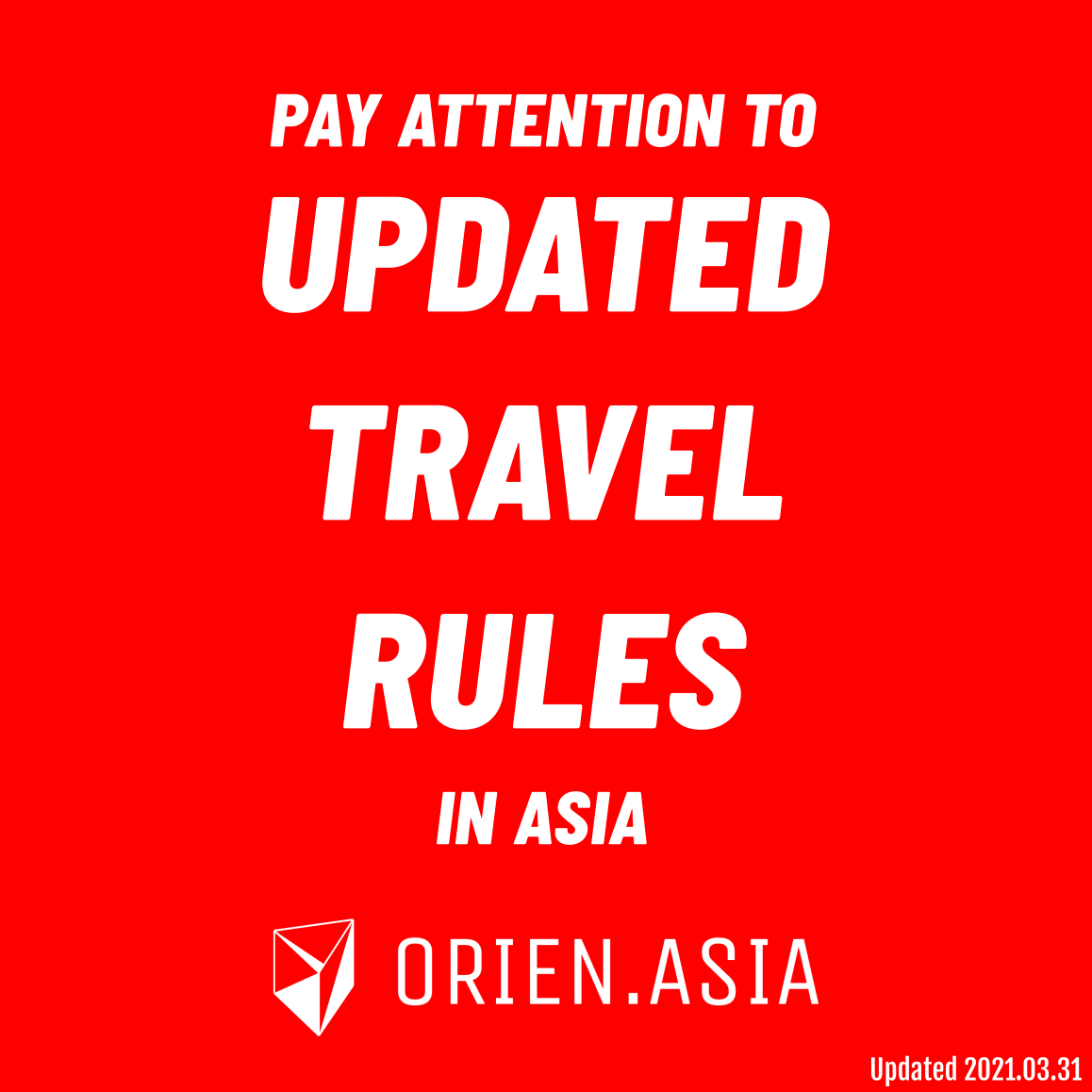 Pay attention to updated travel rules in Thailand and Nepal